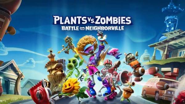 Plants vs Zombies, Battle for Neighbourville, PvZ, Nintendo Switch