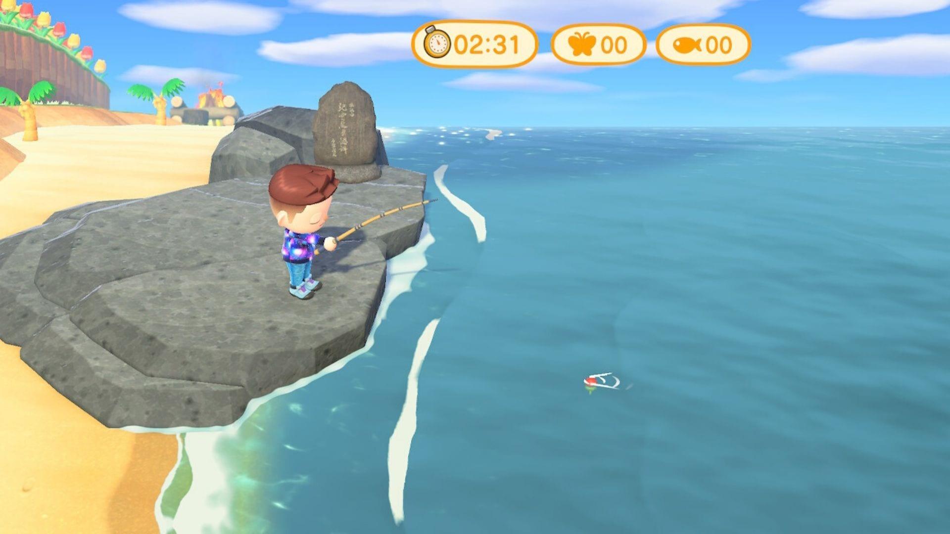 Torneo de pesca de New Horizons Animal Crossing Timer