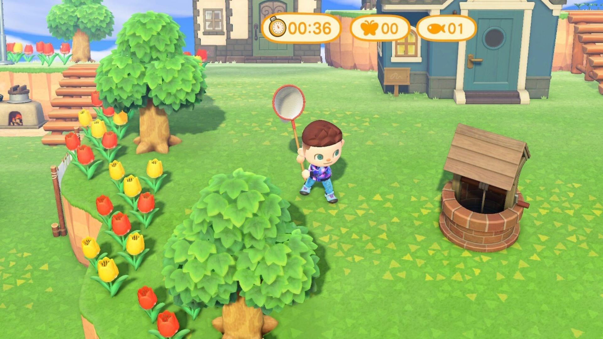 Torneo de captura de insectos New Horizons Animal Crossing