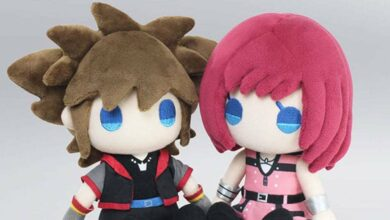 Photo of Los peluches Kingdom Hearts III Sora y Kairi de Square Enix son absolutamente adorables