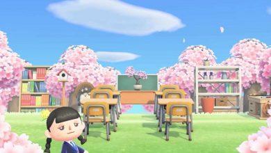 Photo of Animal Crossing: New Horizons Ad presenta un gimnasio al aire libre y un magnífico aula de cerezos en flor