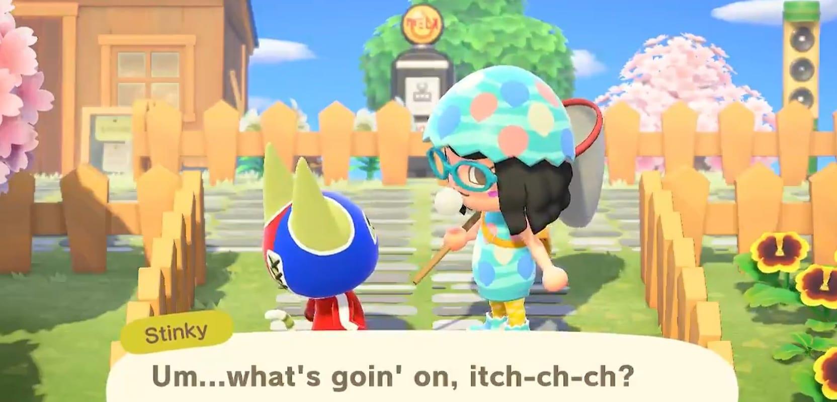 Animal Crossing New Horizons Pulgas
