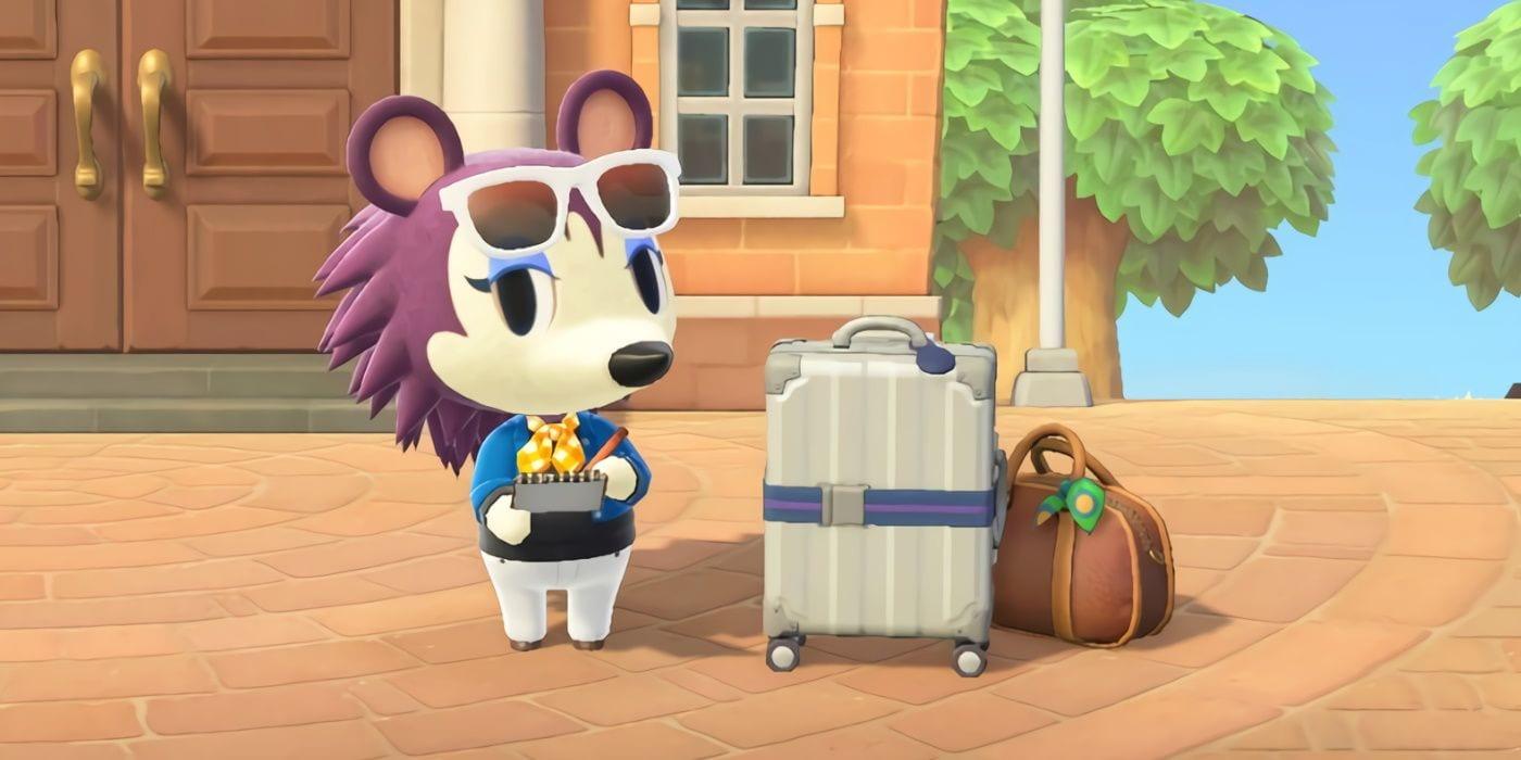Etiqueta en Animal Crossing New Horizons