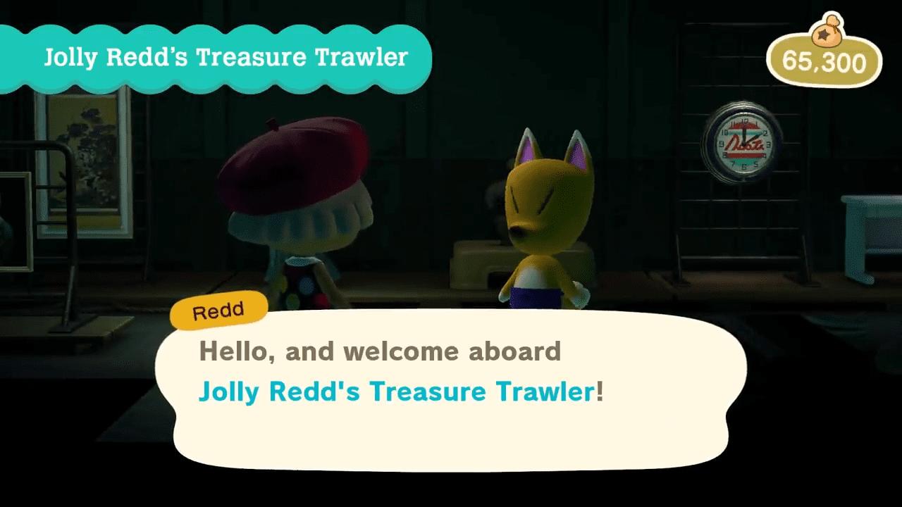 Animal Crossing New Horizons Redd