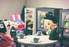 Photo of Animal Crossing Player recrea escena icónica de la oficina