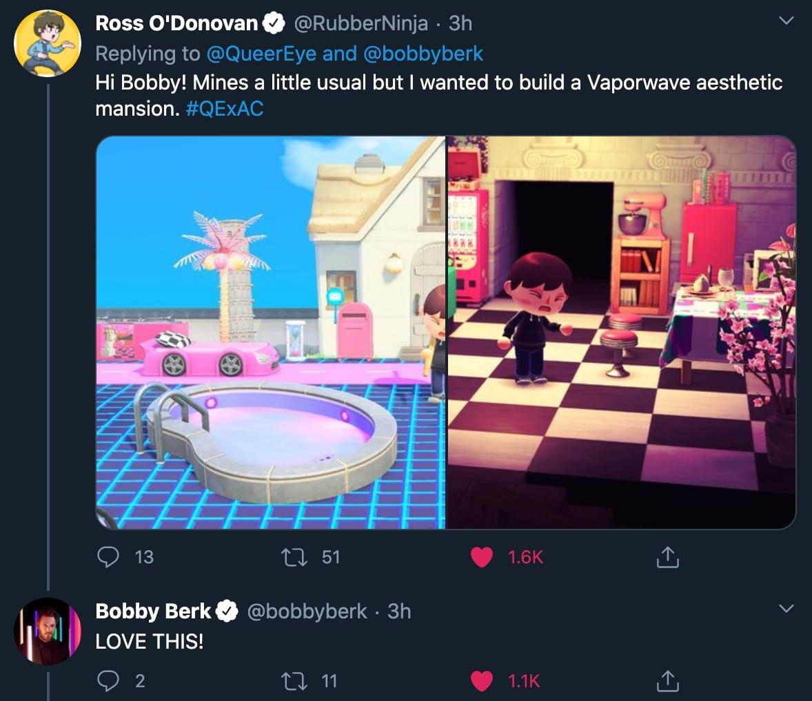 Bobby de Queer Eye está dando consejos sobre el diseño de interiores de Animal Crossing