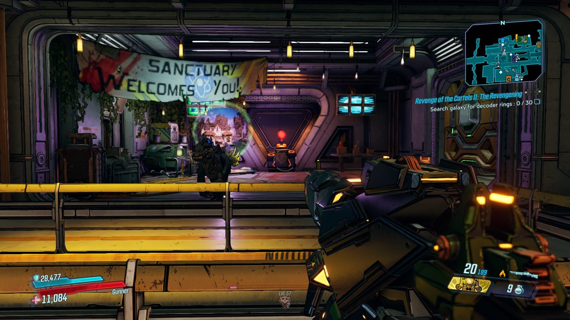 Borderlands 3 Muarice Lugar de partida para la venganza de los carteles