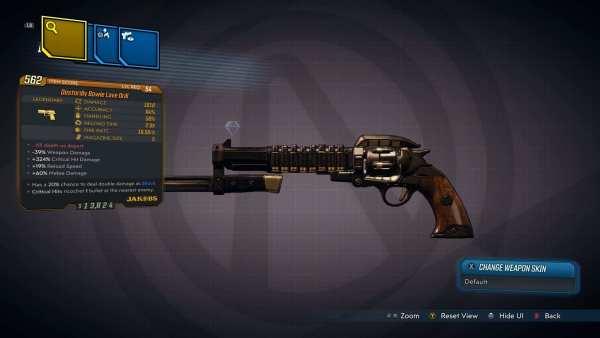 Pistola de taladro de amor legendario Jakobs