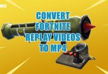 Photo of Cómo convertir archivos .replay a .mp4 en Fortnite