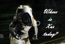 Destiny 2 - ¿Dónde está Xur? - Ubicación Xur hoy - 10 de abril de 2020