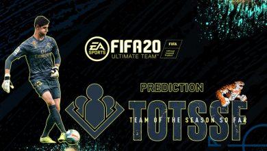 FIFA 20: Predicción TOTSSF - Equipo comunitario de la temporada hasta ahora