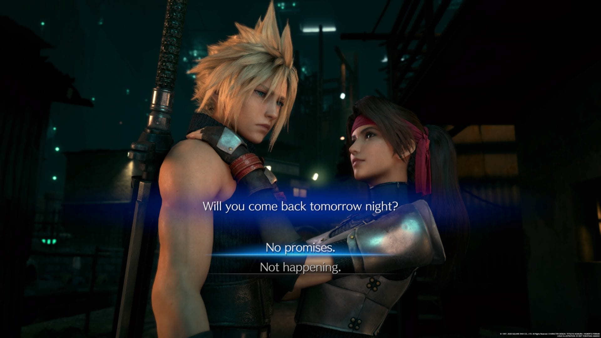 Jesse Final Fantasy 7 fecha de la nueva versión, sin promesas, no sucede, qué decir