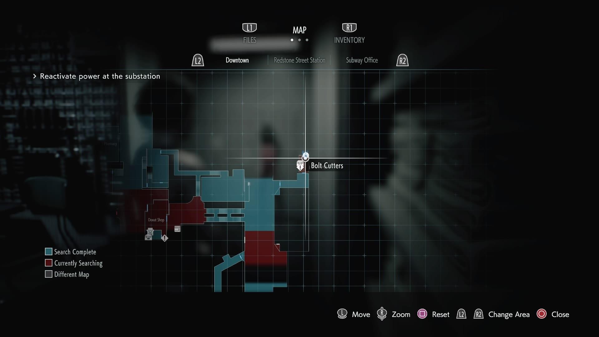 Resident Evil 3, cortador de pernos