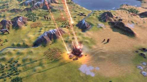 Civilization VI - New Frontier Pass - Pack Maya & Gran Colombia - Lluvia de meteoritos en modo Apocalipsis