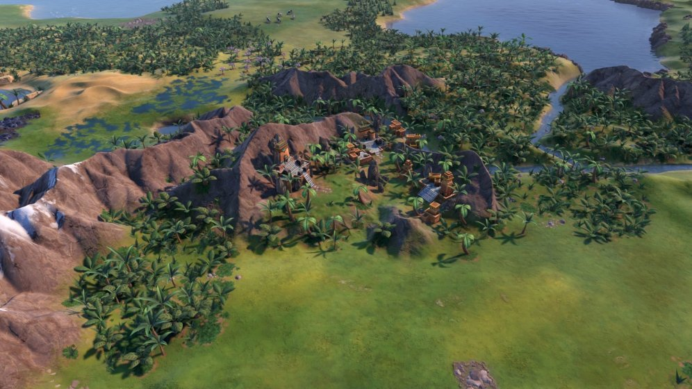 Civilization VI - New Frontier Pass - Paquete Maya y Gran Colombia - Paititi Natural Wonder