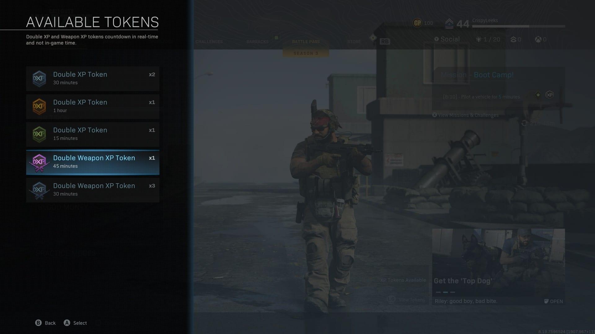 Cómo mejorar las armas en la zona de guerra