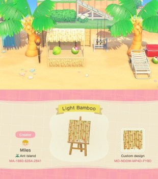Bambú claro