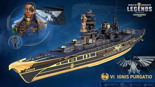 World of Warships Warhammer 40k (7)