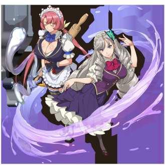 Kandgawa Jet Girls - Kaguya y Kuromaru_Uniform