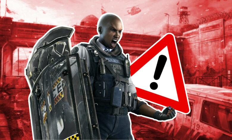 Rainbow Six Siege: debes evitar este error profesional