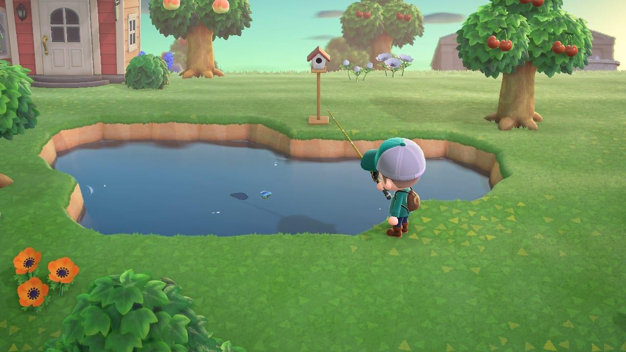 Animal Crossing New Horizons Bagre Estanque