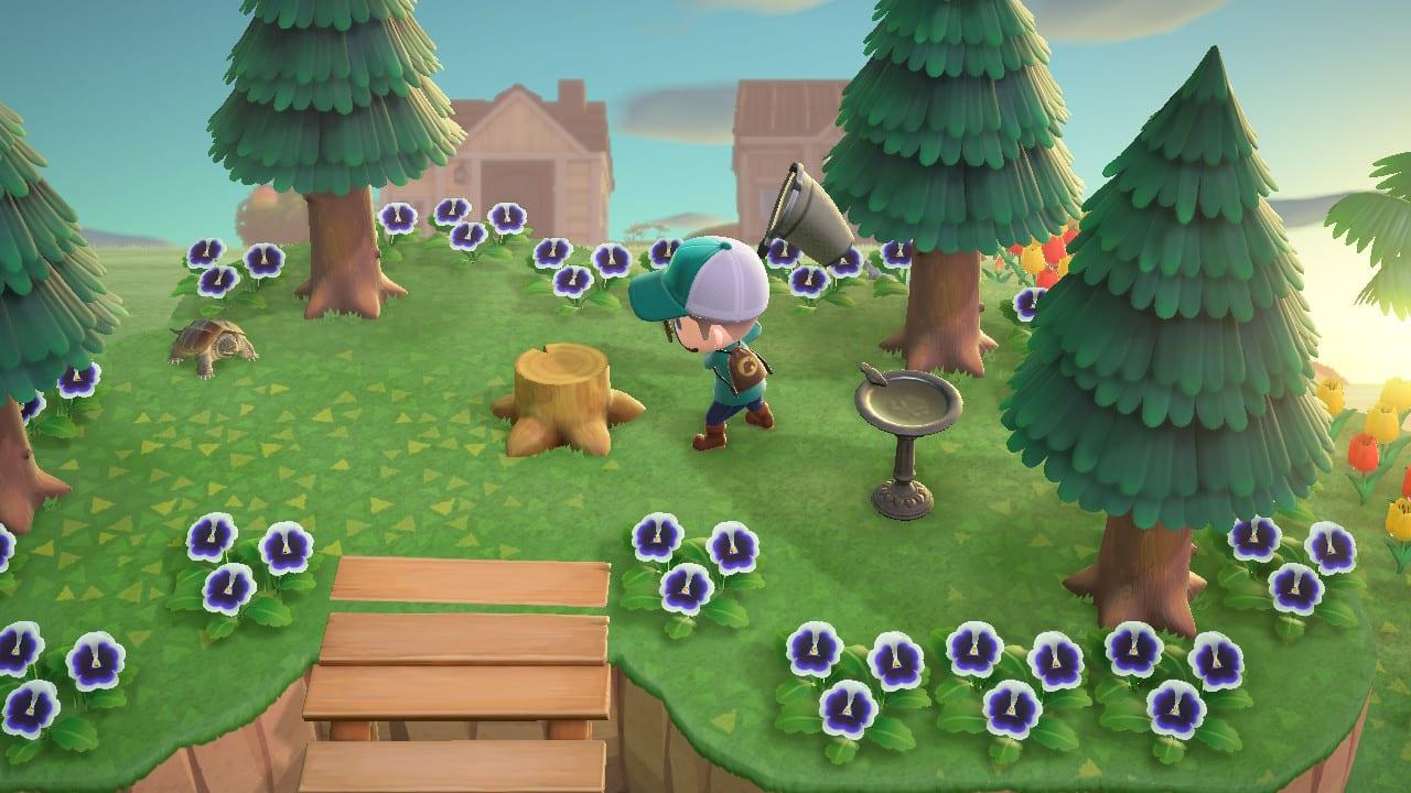 Animal Crossing New Horizons Tocón de árbol Rosalia Batesi
