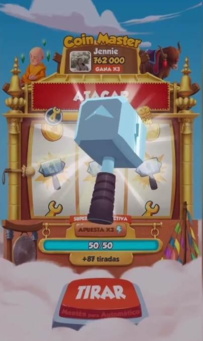 Coin Master Atacar
