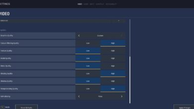 Crisol: la mejor configuración de gráficos