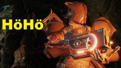 Destiny 2: el jugador convierte la broma en acción: convierte un arma en una tostadora