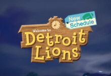Photo of Detroit Lions utiliza Animal Crossing para anunciar el calendario de la temporada 2020