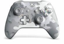 Photo of El controlador inalámbrico Xbox Arctic Camo Special Edition se ve muy bien en la exhibición de videos en profundidad