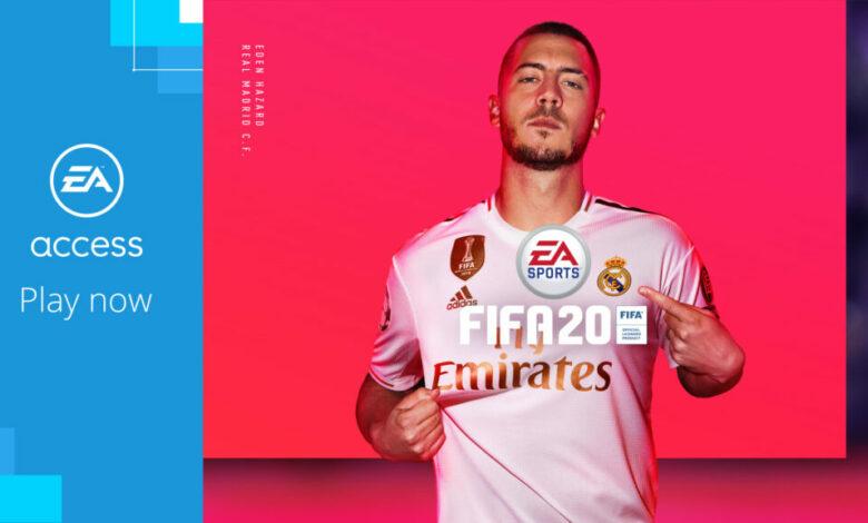 FIFA 20: disponible en EA Access y Origin Access Basic