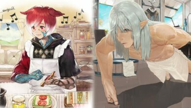 "Photo of Final Fantasy XIV obtiene ilustraciones de Crystal Exarch y Estinien ""Stay at Home"" y son encantadoras"