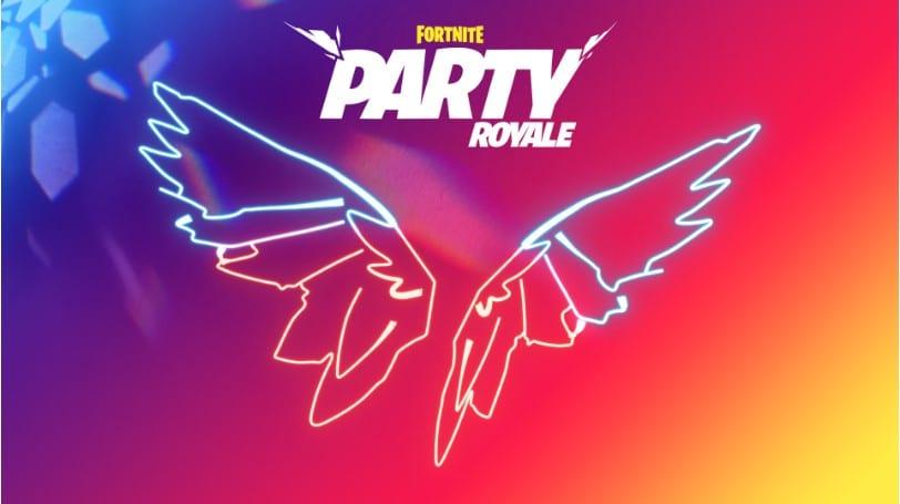 Fortnite Neon Wings Back Bling