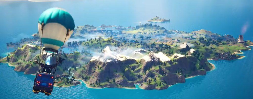 Mapa de Fortnite Capítulo 2