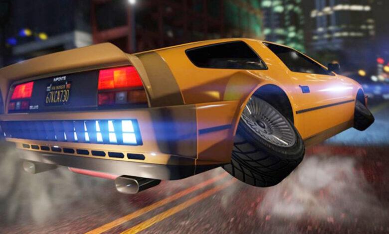 GTA Online: el costoso auto volador ahora está disponible a mitad de precio