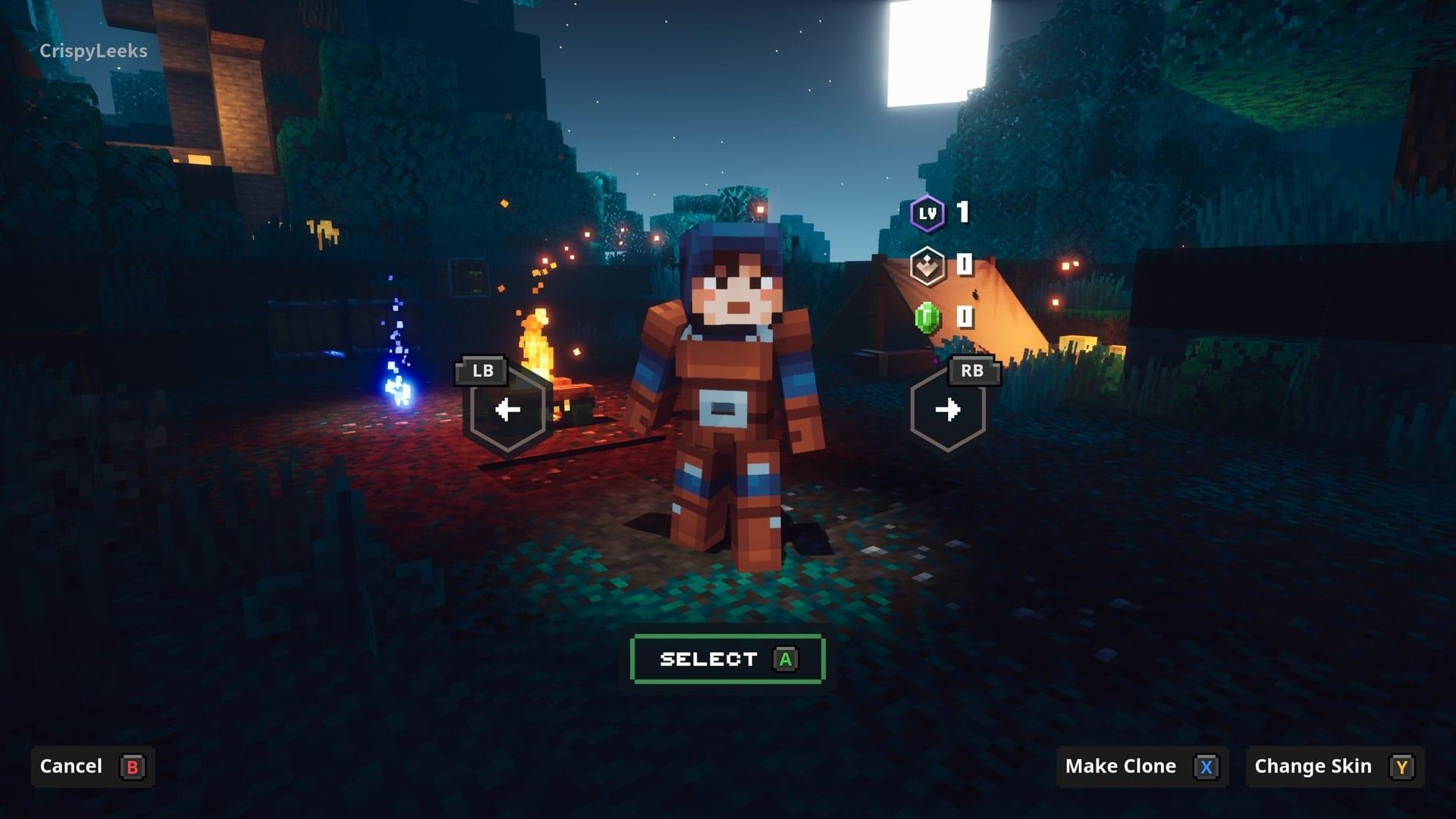 mazmorras de minecraft skins personalizadas