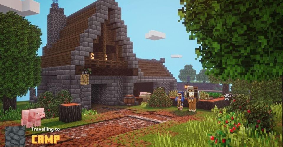 Secretos del campamento de mazmorras de Minecraft