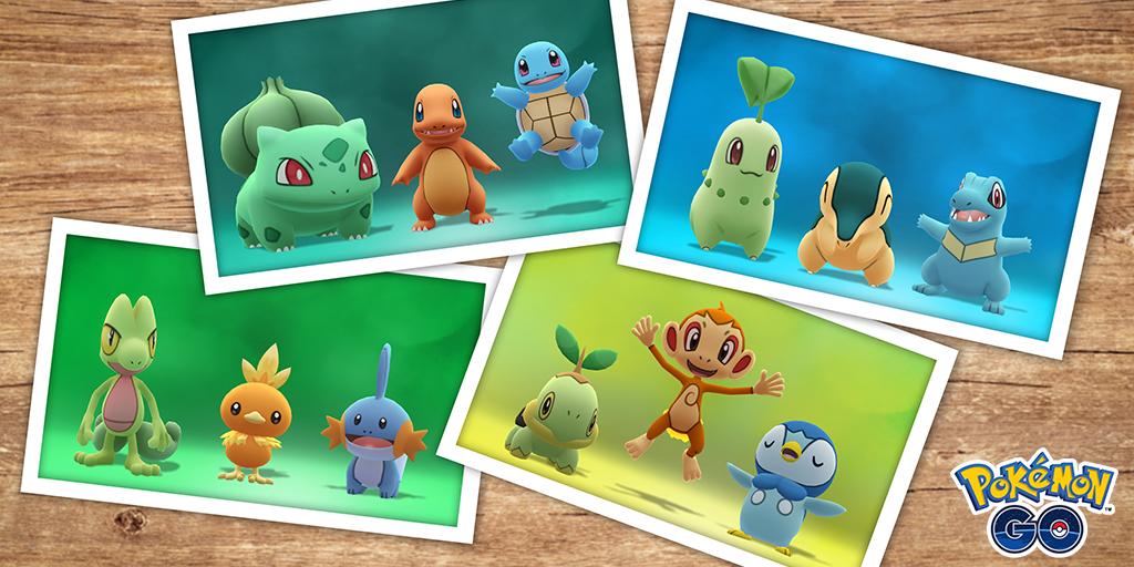 Pokémon GO Gen 1 a 4