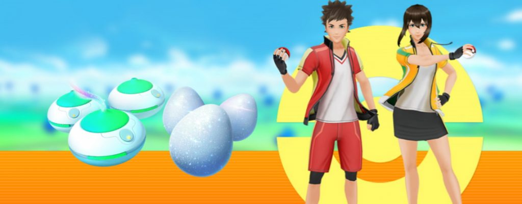 Pokémon GO fuma huevo de la suerte