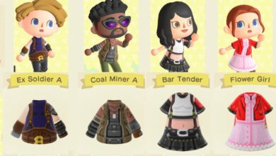 Photo of Vístete como la pandilla de Final Fantasy VII con estos adorables trajes de Animal Crossing