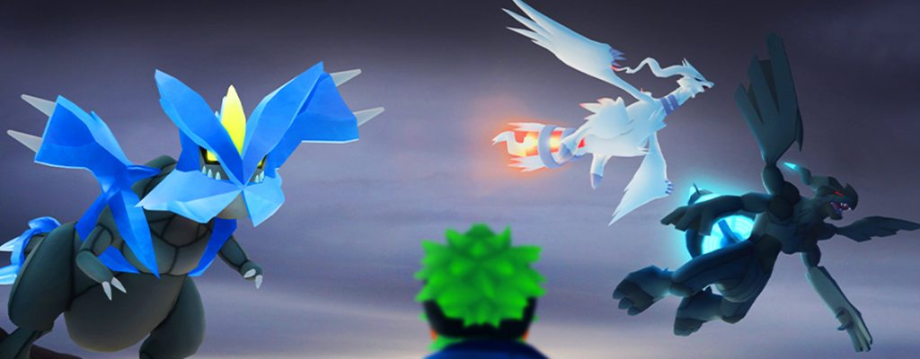 Pokémon GO Reshiram Zekrom Kyurem título