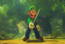 Photo of Zelda: Breath of the Wild Mod permite que Luigi se convierta en el héroe de Hyrule