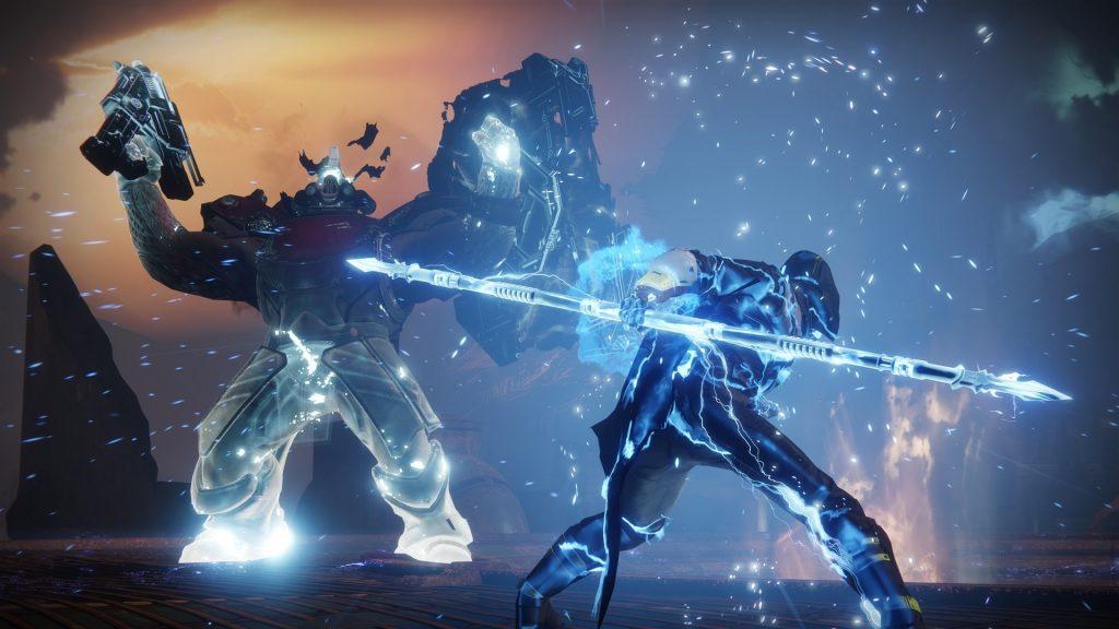 Strike Lake of Shadows Boss Hunter Hunter Arc Título Destiny