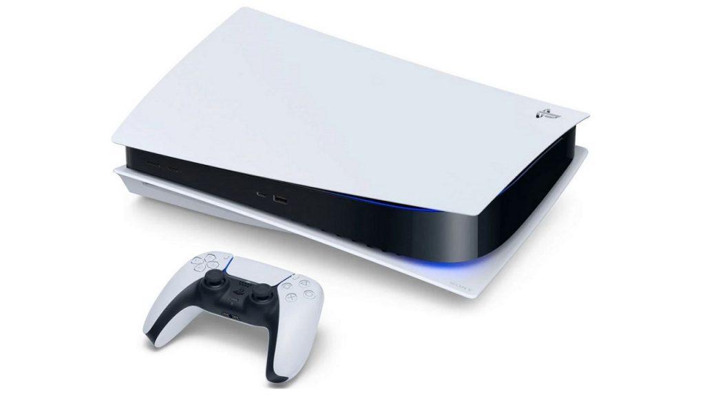 PS5 acostado