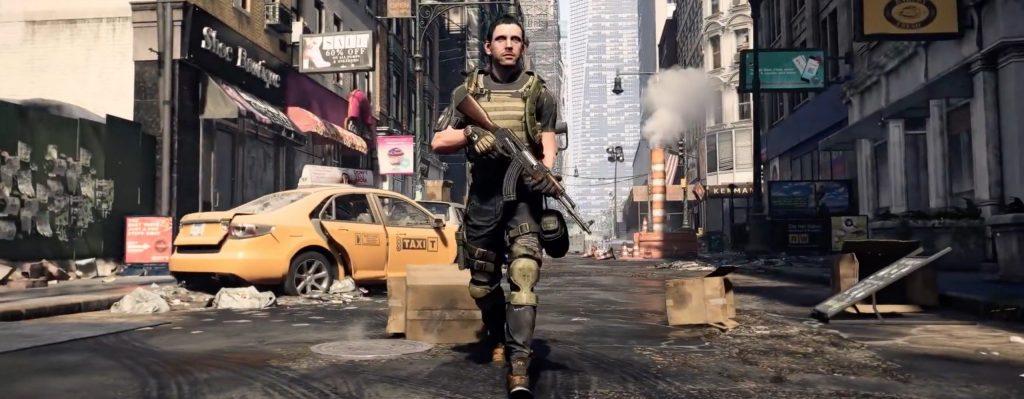 Agente de la División 2 Caminata de los Señores de la Guerra de Nueva York