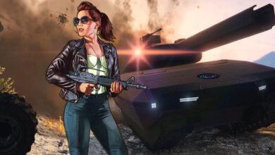 GTA Online: el jugador convierte los tanques en fortalezas voladoras