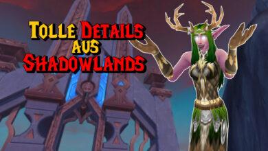 WoW: Son estos detalles los que hacen que Shadowlands sea realmente bueno