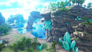 Die neue Map Crystal Isles kommt bald offiziell zu ARK – Das müsst ihr wissen