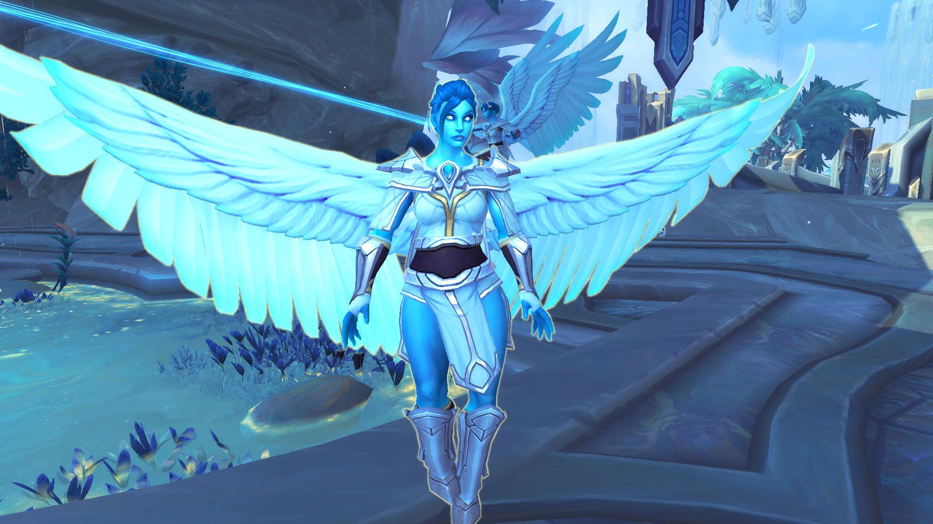 WoW Bastion Kyrian Angel